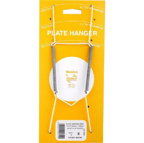 Hanging Wire Plate Hangers - 3 Sizes